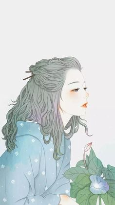 ☁ - 𝒉 𝒐 𝒏 𝒆 𝒚 𝒚 𝒎 𝒊 𝒍 𝒌 ☁ ┊ ᴀɴɪᴍᴇ ᴀʀᴛ in 2019 anime art, anime ar Fan Art Anime, Anime Art Girl, Manga Art, Manga Anime, Grey Hair Anime Girl, Anime Alone, Animes Wallpapers, Cute Wallpapers, Aesthetic Anime