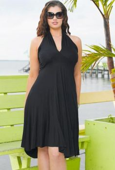 Convertible St. Lucia Plus Size Dress  Very Cruise Worthy!