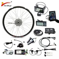 BAFANG Motor Wheel Ebike Electric Bike Kit without Battery Hub Motor e Bike Bicycle Electric Bike Conversion Kit - eCyclingBot Electric Bicycle Kit, Joy Ride, E Scooter, Brand Store, Electric Power, Road Bike, Other Accessories, Brand Names, Free Shipping