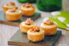 Tartaletas rellenas de coliflor con all i oli caramelizado y crujiente de beicon-cocinando-con-neus
