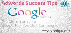 #Google #Addword -   Get your pay-per-click ad on Google today with AdWords. ... Google AdWords lets you manage your campaign by yourself, or you can call us for. See more.. http://www.cyberique.com/google-adword.php