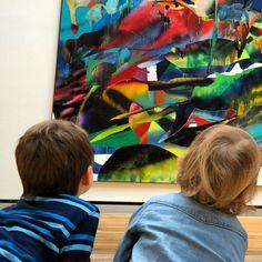 Kids and Art - Staatsgalerie Stuttgart - Kunstführungen für Kinder -  Foto © Welz