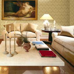 Damascos bordados en dorado,la elegancia y el carácter del papel pintado más clásico https://papelvinilicoonline.com/es/87-bottega-tessile