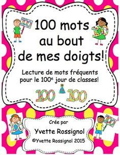 "Perfect ready to print activity for the day. The bonus is: Keep these ""hands"" with sight words in a literacy centrer all year! words to choose from so good for with room for differentiation:) Education And Literacy, Literacy Centers, Sight Word Practice, Sight Words, Communication Orale, Language Immersion, French Expressions, French Classroom, High Frequency Words"