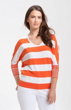 Spring stripes by Karen Kane at Nordstrom