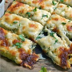 Low Carb Cauliflower Breadsticks