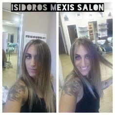 Isidoros Mexis salon Haircut Color  Hair stylist