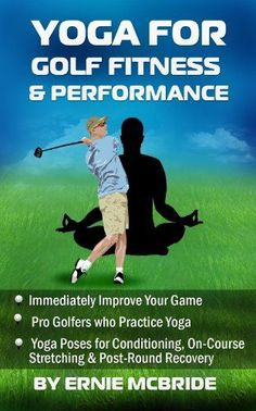 Yoga for Golf Fitness & Performance: For years, more and more athletes have been participating in all kinds of yoga practice to strengthen and improve their balance, physical mental performance in elite sports. Even for casual golfers, yoga can have an im Yoga For Golfers, Golf Handicap, Golf Chipping Tips, Swing Trainer, Golf Instructors, Golf Putting Tips, Golf Exercises, Stretching Exercises, Stretches