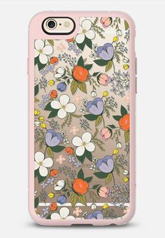 Spring Bloom iPhone Case iPhone 6s case in Pink Gray & Clear by Tracy | @casetify