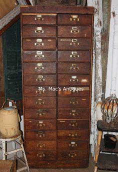 Primitive Hardware Cabinet - Ms. Mac's, Carver, Minnesota