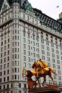 The Plaza Hotel, NYC.