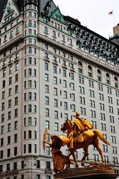 The Plaza Hotel, NYC.