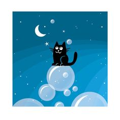 «Cat Over the Moon»