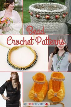 Crochet with beads and make the most beautiful projects!