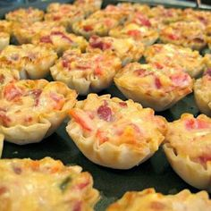 Easy Recipes to Do: Rotel Cups