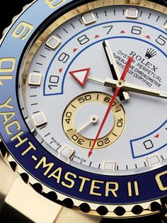 Rolex Yacht-Master II.I GIVE THANKS THAT I AM BEAUTIFULLY AND APPROPRIATELY CLOTHED WITH THE RICH SUBSTANCE OF GOD.