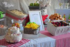 Candy bar, Mesa de chuches bodas l Miss Saturday