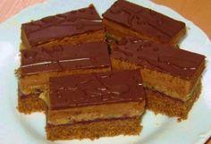Opitý izidor Czech Recipes, Russian Recipes, Sweet Desserts, Sweet Recipes, Healthy Diet Recipes, Cooking Recipes, My Favorite Food, Favorite Recipes, Cake Bars