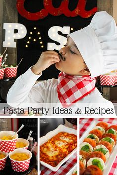 Italian Dinner & Pasta Party Ideas Plus Recipes - Michelle's Party Plan-It  Antipasto Salad Stouffer's Lasagna, Mac & Cheese, Caprese salad #STOUFFERSGOODNESS  AD