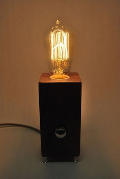 custom order the menlo park lamp dual edison in by thedapperllama