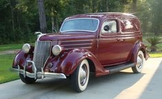 1936 Ford Deluxe Sedan Delivery