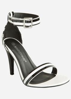 659a53dc20e Patent Stripe Sandal - Wide Width Striped Sandals