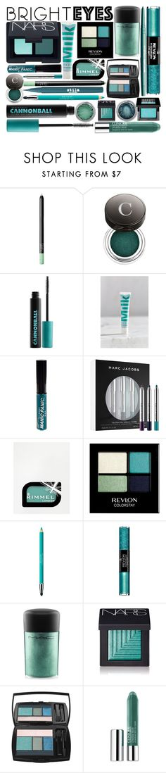 """""""Mermaid Mosaic"""" by rachael-aislynn ❤ liked on Polyvore featuring beauty, Smashbox, NARS Cosmetics, Chantecaille, Urban Decay, MILK MAKEUP, Manic Panic NYC, Marc Jacobs, Rimmel and Revlon"""