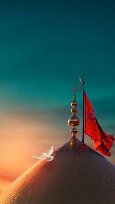 Roza Imam Hussain, Imam Hussain Karbala, Islamic Images, Islamic Pictures, Islamic Art, Karbala Pictures, Muharram Wallpaper, Karbala Iraq, Imam Reza
