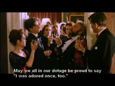 Four  Weddings and a Funeral. I forget how much I love this movie and sadly, how much I relate.