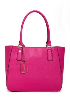 Calvin Klein Leather Tote by Non Specific on @HauteLook