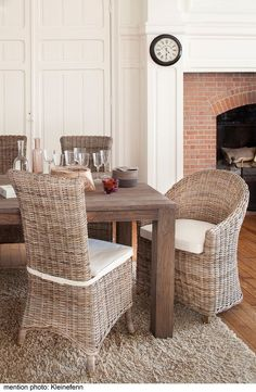 34 Meilleures Images Du Tableau Chaises Rotin Rattan Dining Chairs