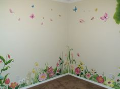1000 ideas about garden mural on pinterest murals for Fairy garden mural