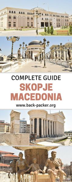 10 of the best things to do and see in Skopje, the capital city of Macedonia. Skopje is the perfect starting point for travel in Macedonia and also fits perfectly into a larger Eastern Europe road trip as a stop between Sofia, Tirana and Kosovo. | Back-pa