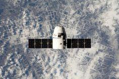 SpaceX Dragon al secondo viaggio ufficiale, portava circa 600kg di materiale alla ISS