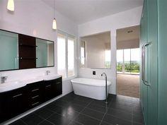 Bildresultat för freestanding bath in corner