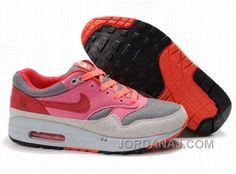 http://www.jordanaj.com/women-nike-air-max-1-grey-pink-red-amfw0320.html WOMEN NIKE AIR MAX 1 GREY PINK RED AMFW0320 Only 73.50€ , Free Shipping!