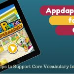 Apps for working on core vocabulary