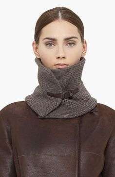 Akris punto Wool Knit Scarf available at #Nordstrom $295