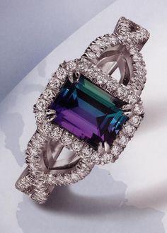 beautyblingjewelry:  Alexandrite - June's fashion love
