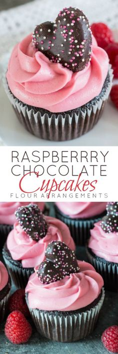 Fresh raspberries Framboise and plenty of dark chocolate come together in these…