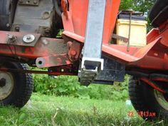Homemade Case/Ingersoll Front End Loader   Lawn Mower Forums : Lawnmower  Reviews, Repair