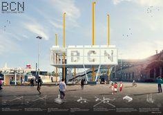 AWR - Architecture Workshop in Rome Urban Planning, Presentation Design, Pavilion, Rome, Competition, Barcelona, Workshop, Cinema, Street View