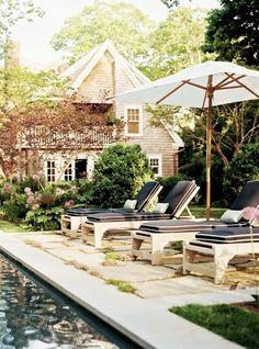 My perfect backyard