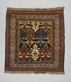 rug Shirvan district  DATE:1930 - 1940 DIMENSIONS:L 128 cm x W 115 cm