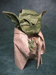 Star Wars Origami - YODA