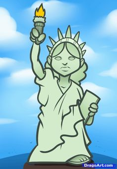 statue of liberty drawing - Google Search