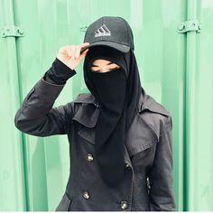 Hijab Wear, Hijab Niqab, Muslim Hijab, Hijab Dress, Hijab Outfit, Niqab Fashion, Modern Hijab Fashion, Muslim Fashion, Military Fashion