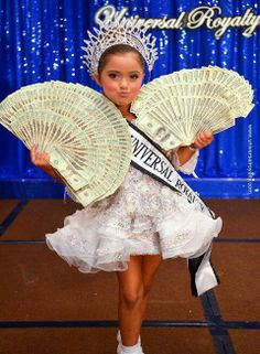 Money Money Money!! Glitz Pageant Dresses, Pagent Dresses, Pageant Crowns, Pageant Girls, Toddlers And Tiaras, Miss Usa, To My Daughter, Daughters, Beauty Pageant