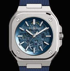 *Blog Update - Read iN!* #BellRoss 40mm BR 05 Skeleton Blue🌊 Ref# BR05A-BLU-SKST * Available on Blue Strap or Steel Bracelet⌚🏝 More iNfo & Article At: elementintime.com/blogs/news Contact To Purchase: 📧info@elementintime.com www.elementintime.com ☎646-756-4859📱  #picoftheday #BellAndRoss #BR05 #SkeletonDial #BR #RubberStrap #RubberB #NYC #LuxuryWatches #WatchesOfInstagram #wristporn #dailywatch #timepieces #Hodinkee #fratellowatches #instawatch #wristwatch #wristcandy #instaclassic #instapic