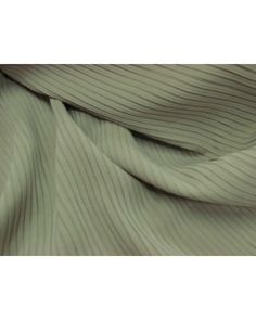 Pleated Silk- Olive - $17.95